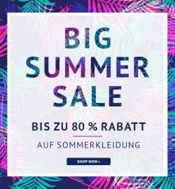 Big Summer Sale mit bis zu 80% Rabatt auf ausgewählte Sommerkleidung @Hoodboyz + 5 € Gutscheincode + Gratis Versand Gutschein
