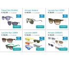 Designer-Sonnenbrillen Flash Sale @iBOOD z.B. Emporio Armani Aviator für 49,95 € + VSK (89,00 € Idealo)