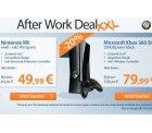 reBuy After Work Deal: Nintendo Wii für nur 48,99€ [idealo: 89€] oder XBox 360 slim 250GB für 78,99€ [idealo: 99€] @rebuy