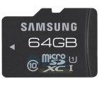 Samsung Pro microSDXC 64GB Class 10 UHS-I MB-MGCGB  für 19,90 € (30,85 € Idealo) @One Telecom