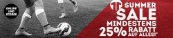 Summer Sale Mindestens 25% Rabatt auf alles @ 11teamsports