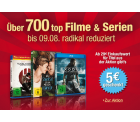 Amazon: Über 700 Filme auf DVD oder Blu-ray radikal reduziert + 5 Euro Rabatt ab 29 Euro Warenwert