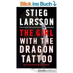 GRATIS Bestseller: Das Kindle-eBook The Girl With the Dragon Tattoo von Stieg Larsson in Englisch bei amazon.de