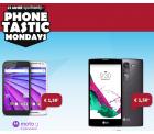 PhoneTastic Mondays: Allnet-Flat S (Allnet-Flat + Internet-Flat ) mit Motorola Moto G 3. Generation (228,90 € Idealo) oder LG G4 c (199,89...