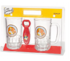 The Simpsons – 2 Bierhumpen mit Öffner im Set Conserve Water, Drink Beer für 13,99€ @buecher.de