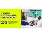 20% Cashback auf ausgewählte Logitech Produkte