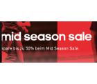 Adidas Online – Erhalte bis zu 50 % Rabatt beim Mid Season Sale