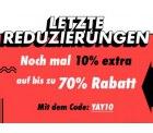 Asos Sale mit bis zu 70% + 10% Extra Rabatt
