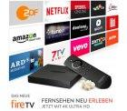 Das neue Amazon Fire TV mit 4K Ultra HD für 99,99€ & Neu – Fire TV Stick mit Sprachfernbedienung für 49,99€ @Amazon