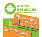 GRATIS Download von WirEssenGesund.de – 115 bunte Smoothierezepte