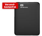 Mediamarkt: WD WDBHDW0020BBK-EESN 2TB inkl. Transporttasche (2 TB, 2.5 Zoll, extern) für 79,00€