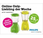 Standmixer Philips HR2105/30 bei moemax.de für 22,95€ + 5€ gratis Artikel statt 44,90€