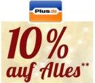 10% Weltspartag Gutschein auf fast alles einlösbar @ Plus