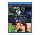 [3D Blu-ray] Avatar 3D und Titanic 3D /2 Disc für 19,97 € [ Idealo 27,95 € ] @ Amazon