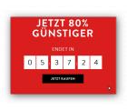 80% Rabatt Sale + 40,- € Gutschein @Voga.com