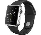 Apple Watch mit Retina Display & Force Touch, Sportarmband in schwarz oder weiss für 529,- € [ Idealo 629,- € u. 648,90 € ] @notebook