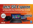 Auf ausgewählte ASUS Transformer Book Chi Geräte 150€ Rabatt @Notebooksbilliger