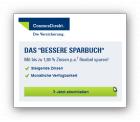 Cosmos Direkt Sparbuch bis 1,8 Prozent Zinsen plus 25,- € Amazon – Gutschein