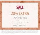 Esprit: 20 Prozent Rabatt auf alle Sale Artikel
