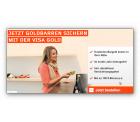 Kostenlose VISA-Karte Gold + 1g Goldbarren geschenkt bekommen @Wüstenrot