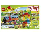 Spielemax.de: LEGO Duplo 66494 Eisenbahn Super Pack 3in1 inkl. Versand für 55 € statt 79 €