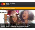 10% Amazon.de Gutschein für Mastercard Inhaber (für Kategorien Kleidung, Schuhe, Handtaschen und Wohnen & Haushalt)