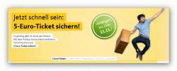 15.000 Tickets für 5,-€ + 10% Gutschein @ Postbus