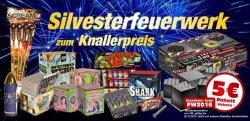 5 € Rabatt auf Silvesterfeuerwerk mit Gutscheincode @karneval-feuerwerk.de