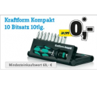 6,66 € Sofortrabatt + GRATIS Kraftform Bitsatz (statt 31,99 €) @Conrad