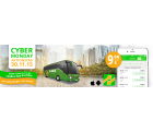 99000 Tickets für je 9,99 Euro durch ganz Europa zum Cyber Monday bei Flixbus