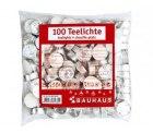 Bei Bauhaus.de gibt es 100 weiße Teelichte für nur 2,99€ inkl. Versand !