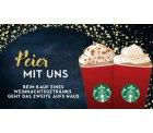 [LOKAL]Beim Kauf eines Weihnachtsgetränk ein zweites Getränk kostenlos dazu @Starbucks