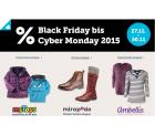 Black Friday und Cybermonday bei MyToys, Mirapodo und Ambellis