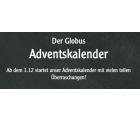 Globus Adventskalender mit Gutscheinen
