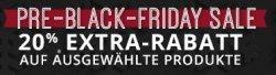 Groupon: PRE-Black-Friday-Sale 20% Rabatt auf ausgewählte Produkte