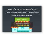 Hide.me: Cyber Monday 50% Rabatt auf alle Tarife