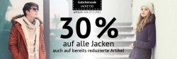 Hoodboyz: 30 Prozent Rabatt auf alle Jacken mit Gutschein (auch reduzierte) + 5 Euro Rabatt auf alles mit Gutschein