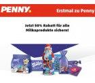 [ Lokal ] 50% Rabatt auf alle Milkaprodukte @ Penny
