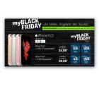myBlackFriday bei myhandy z.B. Mobilcom-Debitel Smart Surf im Netz von Vodafone + Samsung Galaxy S6, 32GB oder 64GB für 24,99 € mtl
