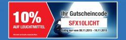 SCREWFIX: 10% Gutschein ohne MBW + 5€ Gutschein