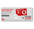 Vodafoen CallYa Prepaid Karte kostenlos bestellen