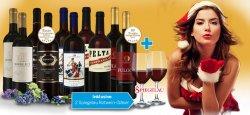 10 Weine mit 2 Gläsern für 39,90€ inkl. Versand statt 112,50€ @ebrosia