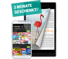 3 Monate kostenlos Zeitschriften Flatrate Readly für Telekom-Kunden