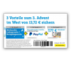 3 Vorteile zum 3 Advent im Wert von 13,72€ sichern bei Conrad