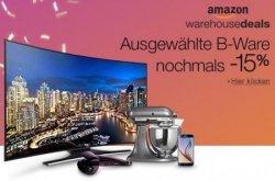 30% Rabatt auf ausgewählte Warehouse Deals bei Amazon.de