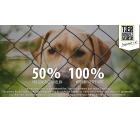 50% Rabatt (max. 7,25 € , MBW 1,50 €) für Neu- und Bestandskunden bei Tipp24 +  100% Einsatz für den Tierschutzverein
