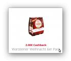 6er Pack Weihnaachtsbier gratis  dank 2€ Scondoo-Cashback Aktion