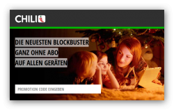 CHILI.tv: 25,- € Gutschein  Filme downloaden oder streamen