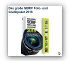 Das große SERIF Foto- und Grafikpaket 2016 kostenlos ( nur Versandkosten ) bei Pearl