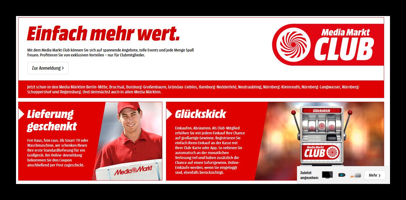 Media Markt Club Anmelden